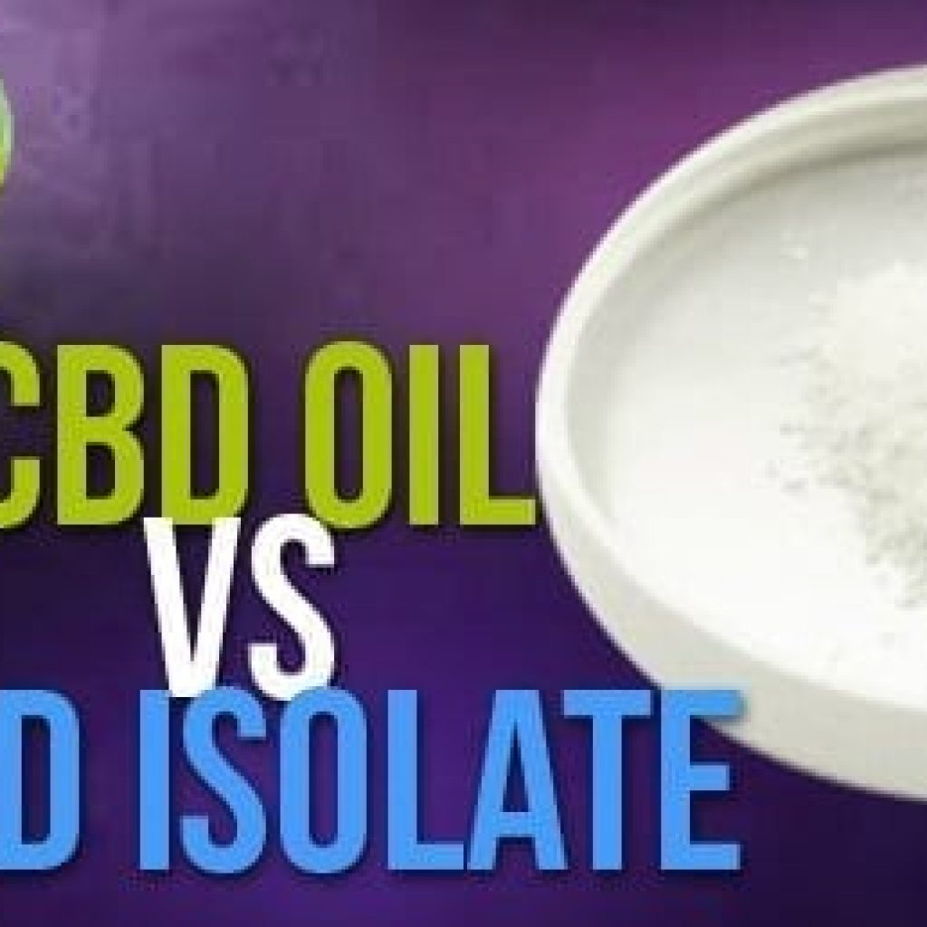 cbd vs isolate